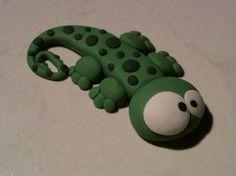 Cute bug-eyed geco