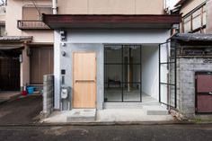 located in kyoto, japan, shimpei oda architect's office has completed the renovation of 'house in shichiku', a residential building from the Japanese Architecture, Architecture Details, Minimalist Architecture, Living Spaces Furniture, Space Furniture, Office Floor Plan, 1920s House, Narrow House, H & M Home