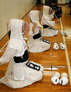 Kendo Japan | White uniform girls Kendo Japan | Steve | Flickr
