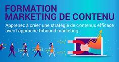 Formation marketing de contenu : créer 1 stratégie efficace Marketing Automation, Inbound Marketing, Content Marketing, Digital Marketing, Formation Marketing, Coaching, Web Seo, La Formation, Lead Generation