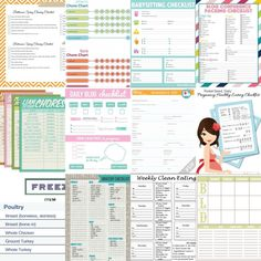 The ultimate group of free printable checklists for every area of your life. Organize away with these 25 free printable checklists. Free Planner, Planner Pages, Happy Planner, Printable Planner, Free Printables, 2015 Planner, Blog Planner, Goals Planner, Printables Organizational
