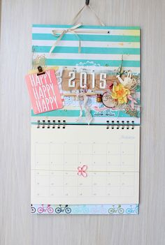 Sweet Papers by Zhanna: Мой ДД, календари и прочая новогодняя красота.