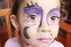 Ideas Halloween- Maquillaje para niños - Bruja avería