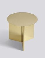 "table basse ""Slit Round"" design Hay Hay"