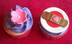 Doc McStuffins cupcakes, via Flickr.
