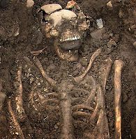 Archaeologists working near Kilteasheen, Ireland unearthed two skeletons from the 8th century buried with stones in their mouths. The reigning theory is that this was done to prevent their return from the grave.