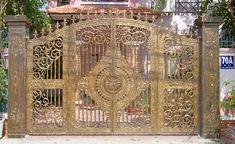 Mẫu cửa cổng nhôm đúc GAT 128