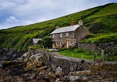 A Cornish Cottage by the sea. by Tommy Corry, via 500px