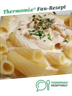 Lachs-Sahne-Soße von nessy654. Ein Thermomix ® Rezept aus der Kategorie Saucen/Dips/Brotaufstriche auf www.rezeptwelt.de, der Thermomix ® Community.