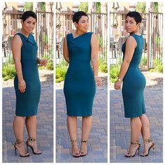 DIY Dress + Leopard Heeled Sandals - Mimi G Style