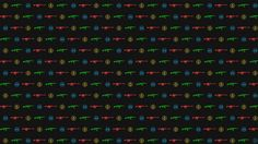 Counter Strike: Global Offensive Game Logo Wallpaper