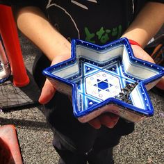 Are Star of David decorations for Hanukkah or all year round? #jewish #jew #home #style #decorations #Hanukkah #Judaism #cute #jewishgift #Israel