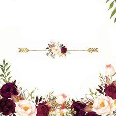 Invitation Background, Floral Invitation, Floral Wedding Invitations, Paper Background, Wedding Card Design, Wedding Cards, Poster Background Design, Flower Logo, Floral Border