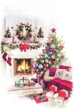 William Simpson - Christmas Tree Interior