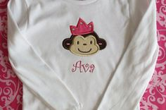 Custom Princess Monkey Shirt