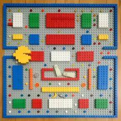 Pacman Lego. Cool!