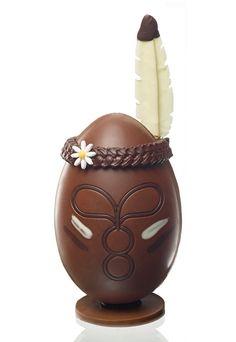 L'œuf de Pâques 2015: L'œuf Cheyenne, Gâteaux Thoumieux