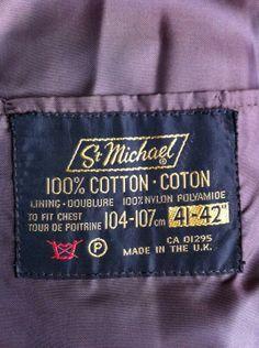 Via @richardovery : Fashion label font St Michael in 70s gold, brown & black