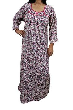 Mogul Interior Bohemian Nightgown Caftan Cotton Pink Pais... https://www.amazon.co.uk/dp/B01N2G3W4E/ref=cm_sw_r_pi_dp_x_AG12ybDTJJTK9