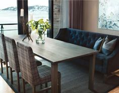 Norwegian moods: Dining - sofa