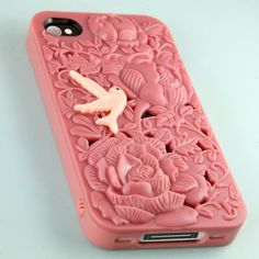 SALE 2x Peach flower Hard iphone Case with a by kawaiisupply007, $19.99