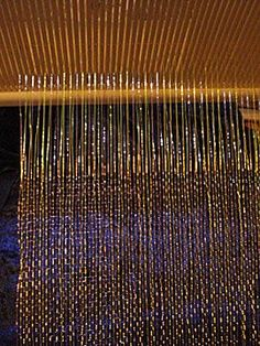 weaving with wire
