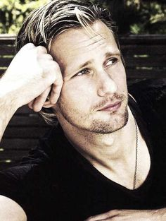 Alexander Skarsgard  For all you ladies who need a smile today. :)