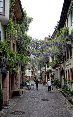 Old Town of Freiburg, Germany | Flickr - Photo by Andrew Sweeney