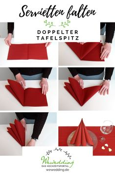 Double boiled beef Fold napkins with WeWedding - the wedding portal! Gifts: Christmas is coming Christmas or the Christ festival, the Festi. Paper Napkin Folding, Paper Napkins, Diy Resin Tray, Boiled Beef, Painted Wine Bottles, Decorated Bottles, Best Christmas Presents, Everyday Hacks, Anniversary Decorations