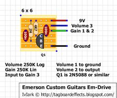 Guitar FX Layouts: Booster