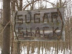 Sugar Shack ~ Niagara