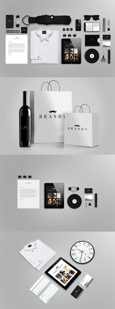 Stylish Black Stationery Branding Mock up » Free Special GFX Posts Vectors AEP Projects PSD Web Templates | Herogfx.com