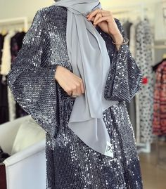 16 Trendy Ideas For Dress Hijab Party Style Fashion Mode, Abaya Fashion, Modest Fashion, Fashion Dresses, Modest Wear, Modest Dresses, Modest Outfits, Hijab Evening Dress, Hijab Dress Party