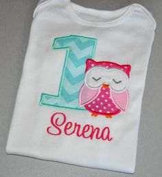 Birthday Girl Outfit  Monogrammed/Personalized by PreciousnProsper