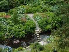 Stepping Stones, Bodnant Gardens, Wales