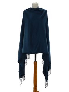 OXFORD: If you're a fan of traditional medium blues, the pashmina will offer you just that. A sophisticated shade, perfect if you're trying to build up a more mature, grown-up wardrobe. A perfect one to pair with sun dresses, denims or patent skirts. Dress it down with shirts and jeans or glam it up as a cover up over evening gowns, wedding outfits and cocktail dresses.