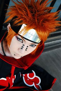 pain - love this cosplay <3 #cosplay #naruto #anime