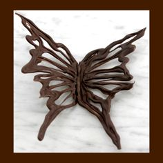 Chocolate Decorations - How to Make a Chocolate Butterfly