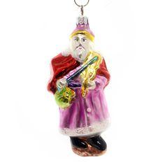 Christopher Radko English Santa Glass Ornament