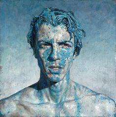BLUE, por Daniel Barkley.