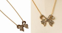 The Limited Bow Necklace