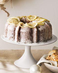 When life gives you lemons, bake a cake! Lemon cake.