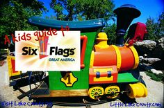 Kids Guide to Great America via @Visit Lake County Illinois