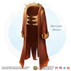 💎 𝗡𝗲𝘄 𝗶𝘁𝗲𝗺! Red Claw's Regalia Wondrous item, legendary (requires attunement) ___ This tough dragon scale robe is miraculously insulated… Dungeons And Dragons Characters, D&d Dungeons And Dragons, Mazes And Monsters, Capes, Magic Armor, Dnd Dragons, Armor Clothing, Dungeons And Dragons Homebrew, Dragon Scale