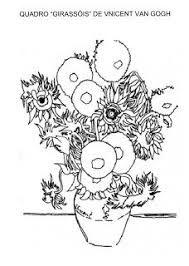 Vaso Fiori Van Gogh Da Colorare Cerca Con Google Arte Famosa Disegni Da Colorare Insegnando L Arte