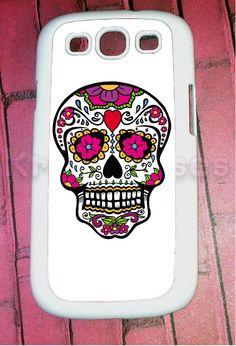 Samsung Galaxy S3 Case Sugar Skull Samsung Galaxy S3 by KrezyCase, $14.95