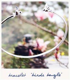 "Bird On The Wire ""Birds Bangle"""