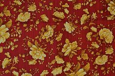 Oriental Traditions  red floral   Robert by TheKittyQuilter
