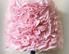 Pantalla satén embellecido cottage shabby chic por AnitaSperoDesign