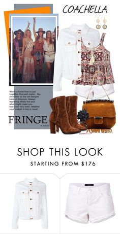"""Festival Trend: Fringe! (boho, coachella)"" by beebeely-look ❤ liked on Polyvore featuring Etienne Deroeux, J Brand, Dolce Vita, fringe, Bohemian, sammydress, fringebag and BohoStyle"